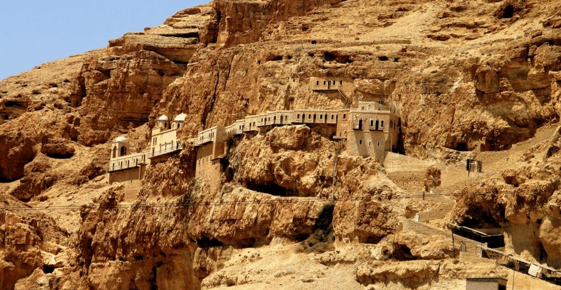 Monte da Tentação - Terra Santa Viagens - Viagens para Israel e outros  locais bíblicos