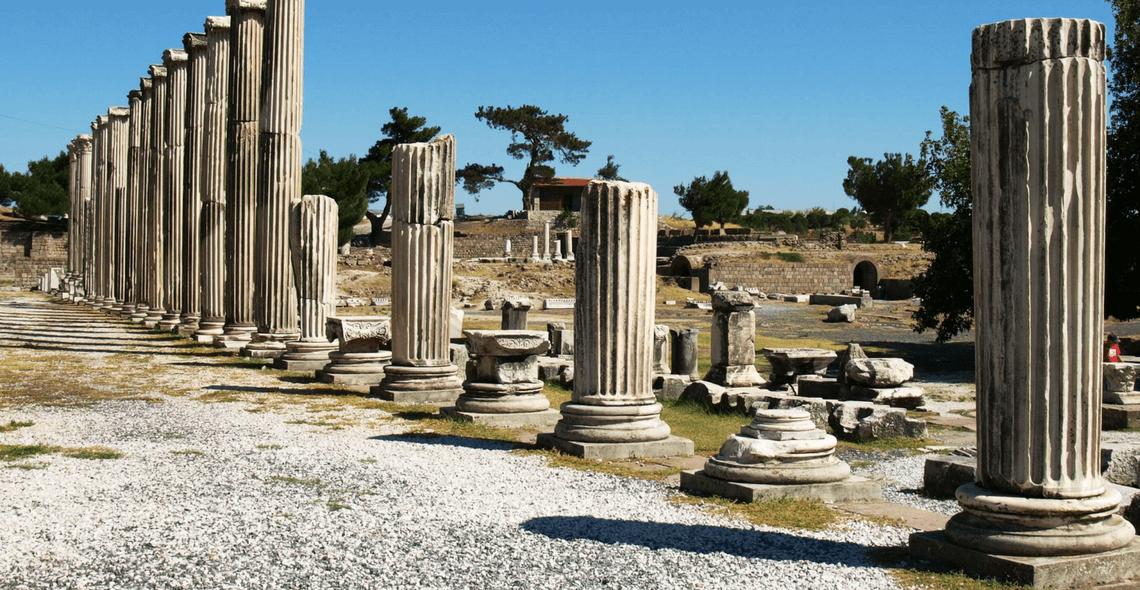 Pérgamo - Terra Santa Viagens - Viagens para Israel e outros locais bíblicos